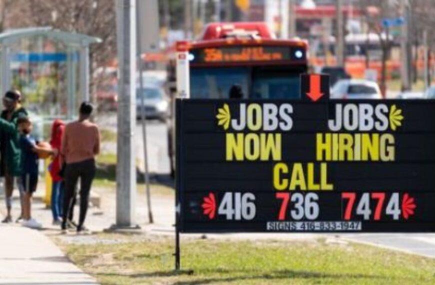 Canada's job market roars back; hiring climbs, unemployment falls as COVID-19 restrictions lift