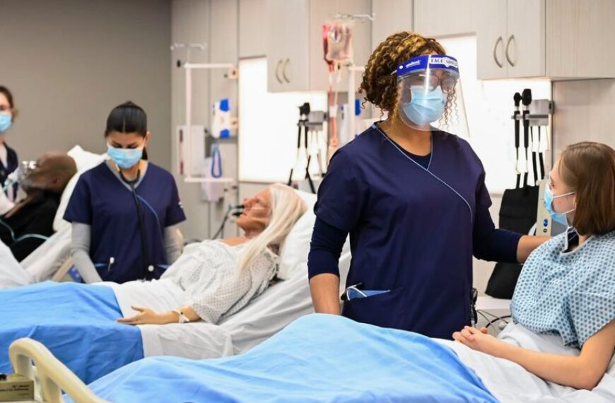 Nursing schools can't accommodate increase in demand at time when profession faces shortage